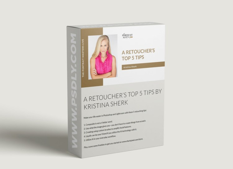 The Portrait Masters - A Retoucher's Top 5 Tips by Kristina Sherk
