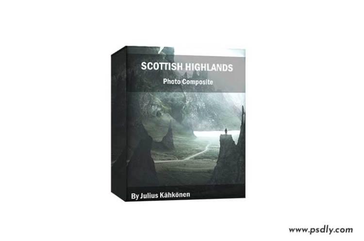 VisualsofJulius – Scottish Highlands Photo Composite By Julius Kähkönen