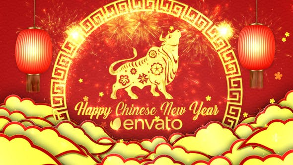 Videohive Chinese New Year Greetings 29997448