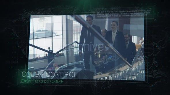 Videohive Digital Circuit Slides 29992753
