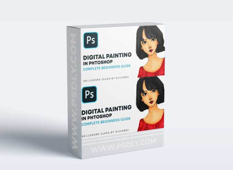 DIGITAL PAINTING IN ADOBE PHOTOSHOP : Complete Beginners Guide to Paint Your Masterpiece
