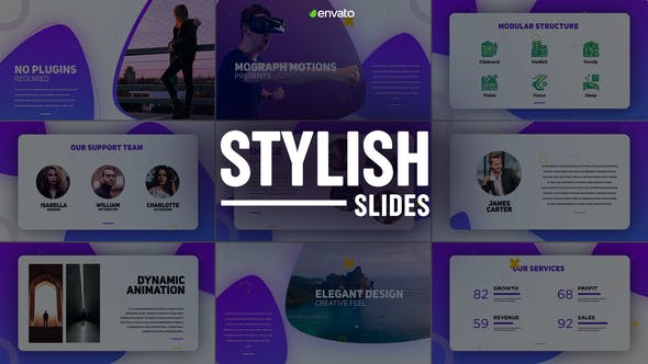 Videohive Stylish Slides 23193762