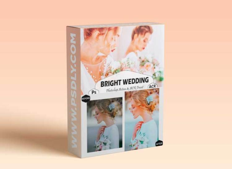 10 Bright Wedding Photoshop Actions 8616148