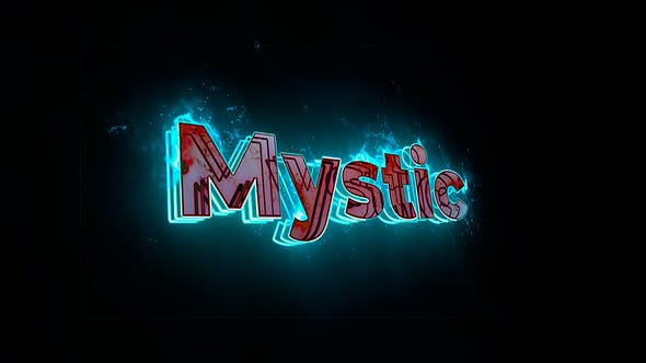 Videohive Mystic Saber Logo 31168783