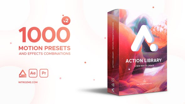 Videohive Action Library Motion Presets Package 22243618