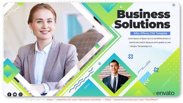 Videohive Corporate Business Solutions 31348638
