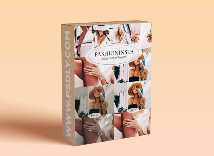 CreativeMarket - Fashioninsta - Lightroom Preset Set 5872565