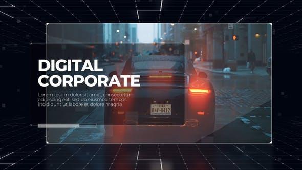 Videohive Corporate Digital Business Presentation DaVinci Resolve 29755496