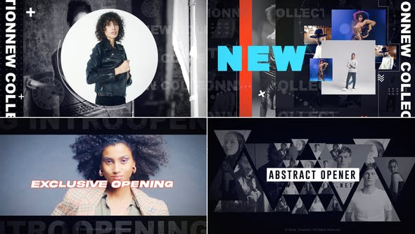 Videohive Abstract Opener 30353488