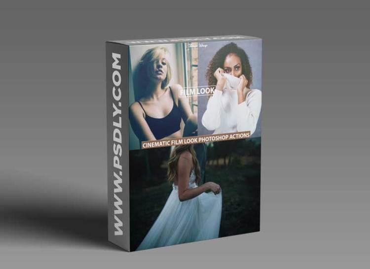 Film Look Tones Photoshop Actions 8618290