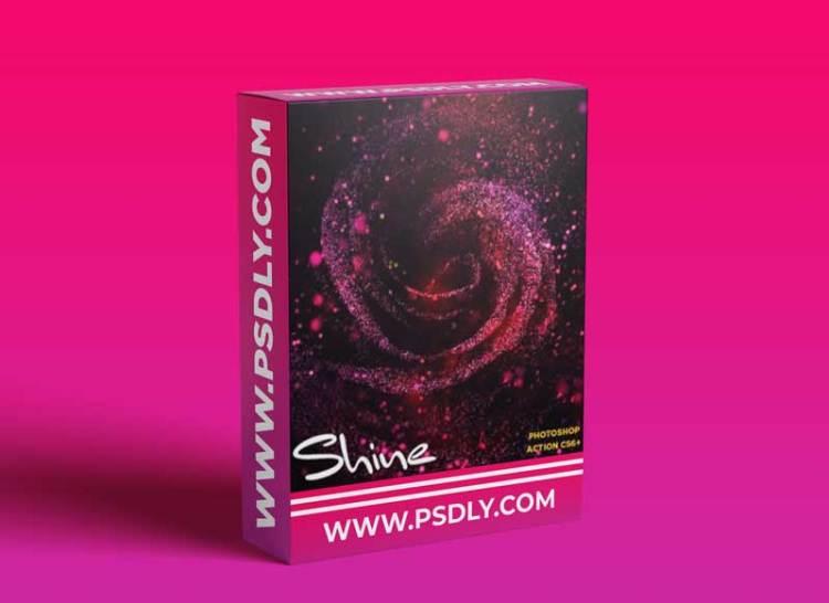 GraphicRiver - Shine CS6+ Photoshop Action 30834328