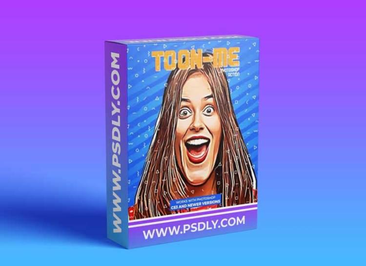 GraphicRiver - Toon-Me Photoshop Action - Cartoon Caricature 30274928
