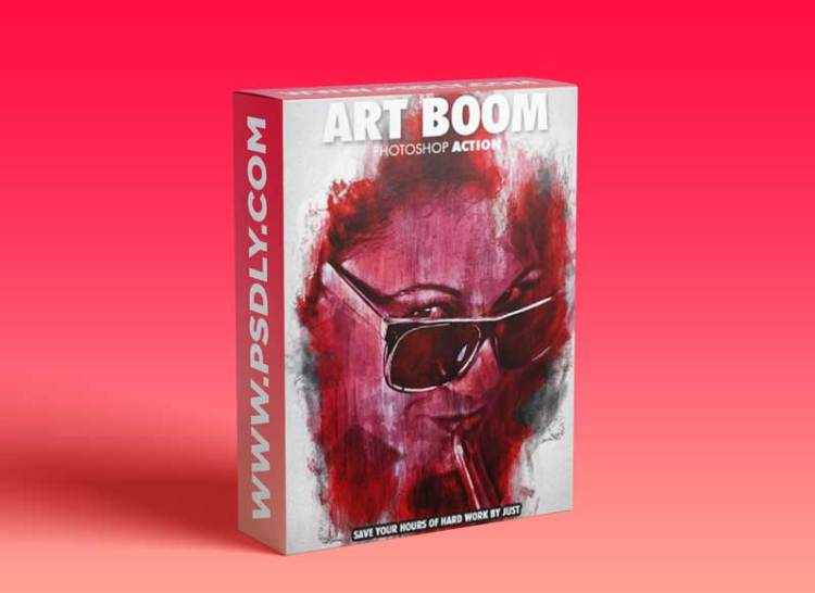 Graphicriver - Art Boom Photoshop Action 19674741