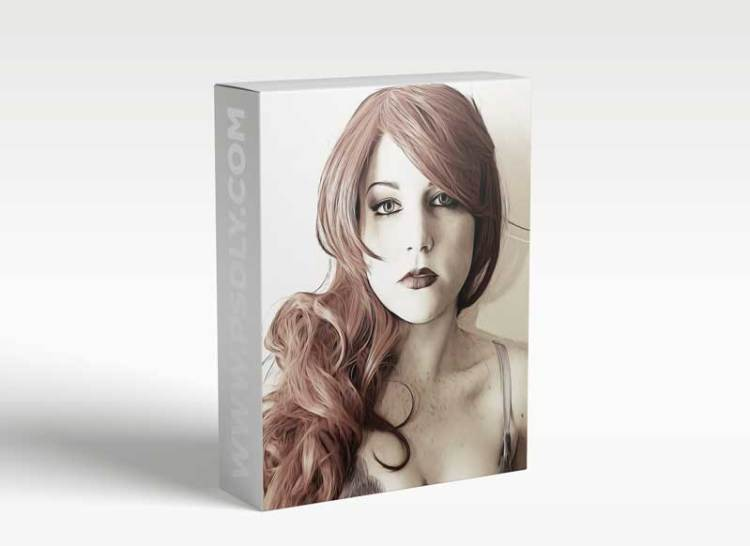 Graphicriver - Old Painting Photoshop Action V.2 19883642