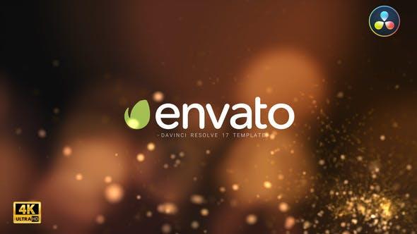 Videohive Particle Burst Logo Reveal DaVinci Resolve 29699987