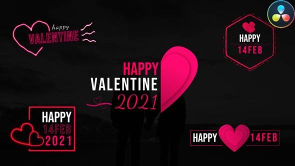 Videohive Valentine Modern Titles 30447150