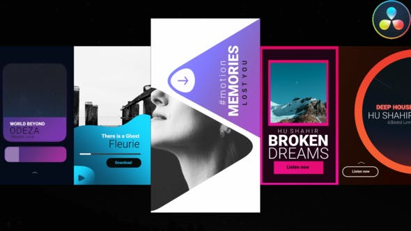 Videohive Music Instagram Stories 30140937