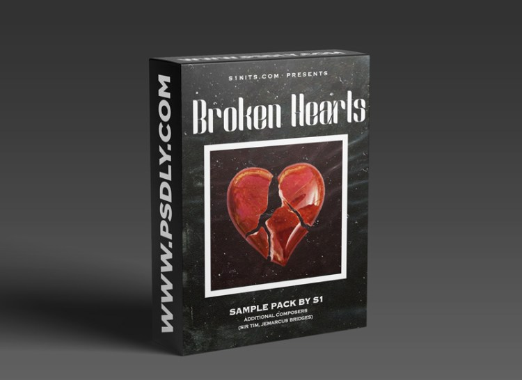 S1KITS Broken Hearts Sample Pack (by S1) (Compositions and Stems)
