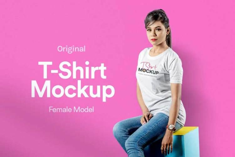 T-Shirt Mockup 08 5YQ9J3S