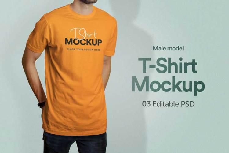 T-Shirt Mockup - Vol 03 MA8P4MR