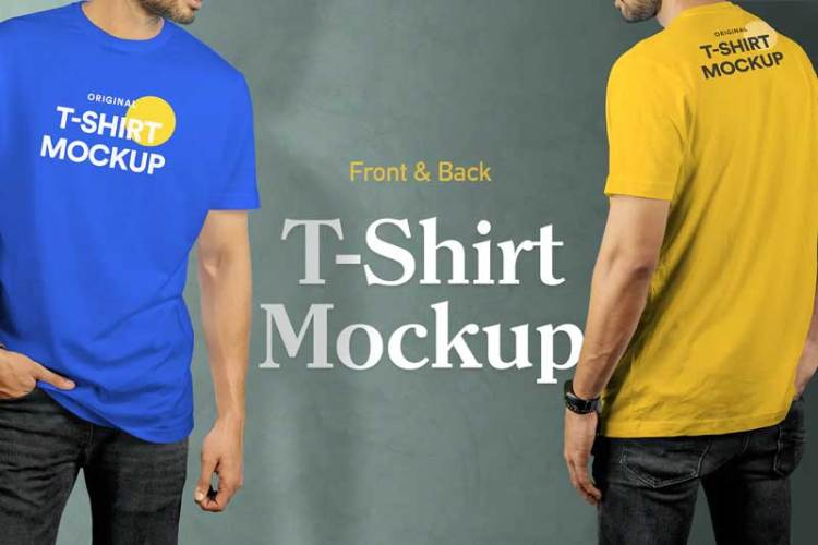 T-Shirt Mockup Vol 17 MY7A9RG