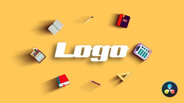 Videohive School Logo Reveal 29745911