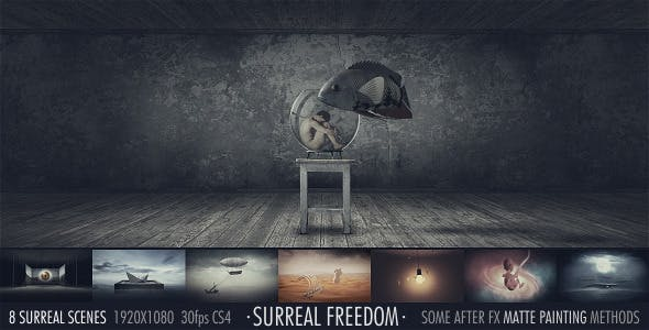 Videohive Surreal Freedom 6103444