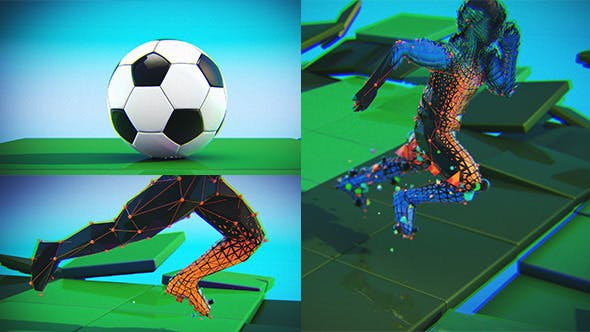 Videohive Energetic Soccer Intro 11693625