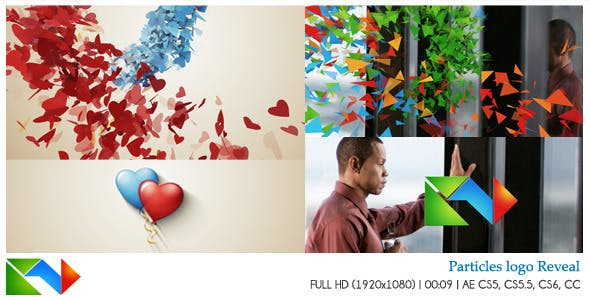 Videohive Particles Logo Reveal 8901440