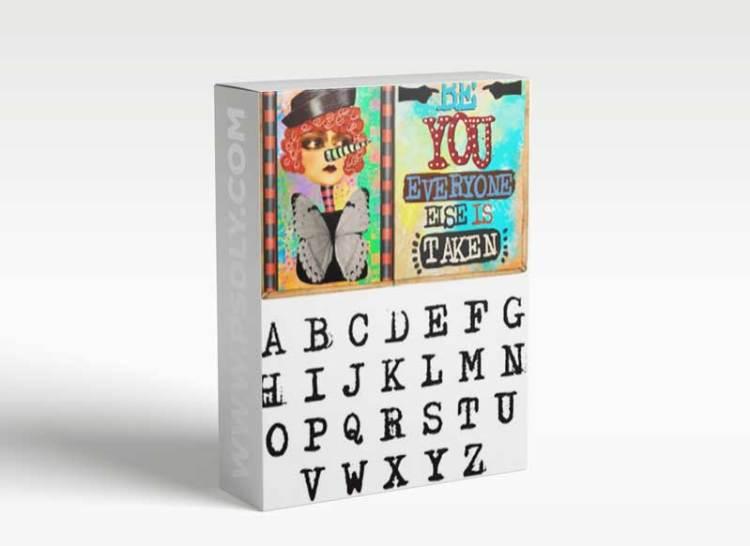 CM - Procreate - Alphabet Stamp A-Z 2515723