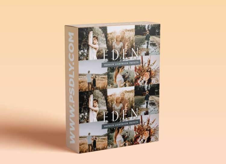 CreativeMarket - Dark Moody EDEN Lightroom Presets 6043655