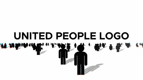 Videohive United People Logo After Effects Template 31183041