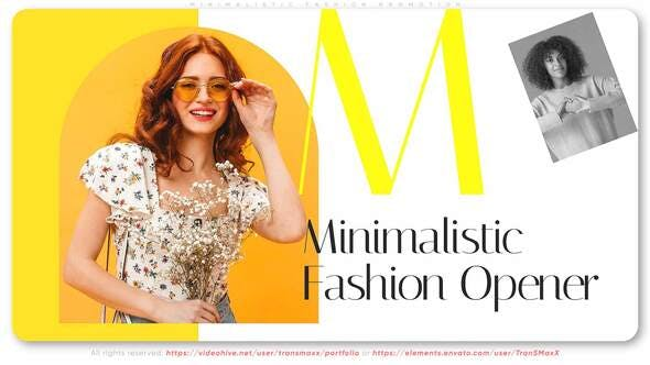 Videohive Minimalistic Fashion Promotion 31751163