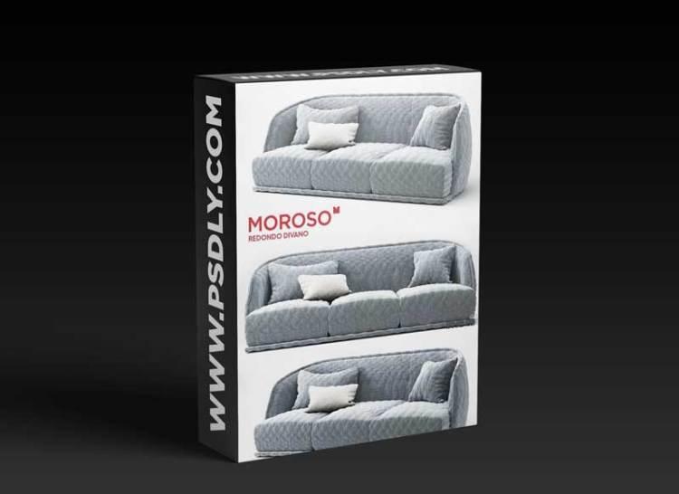 Modern fabric sofa combination 08