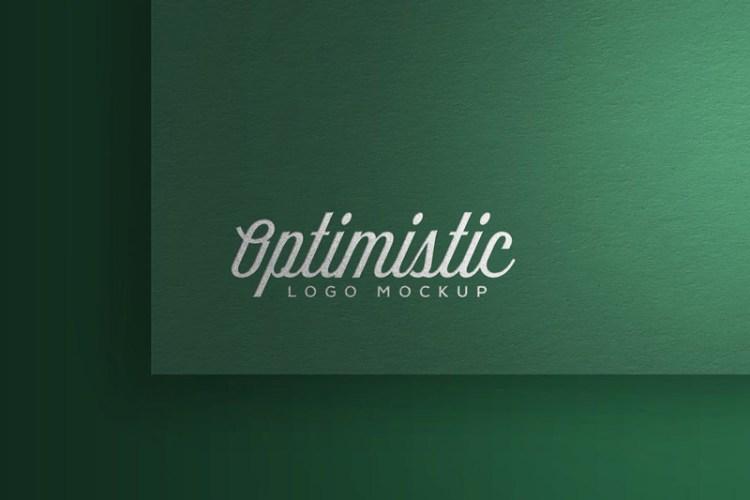 Optimistic Logo Mockup
