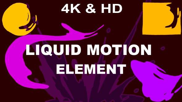 Videohive Liquid motion Elements Pack 16120855