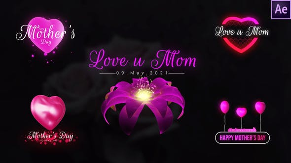 Videohive Mothers Day Unique Titles 31809595