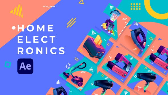 Videohive Home Electronics Product Promo After Effects 31830521