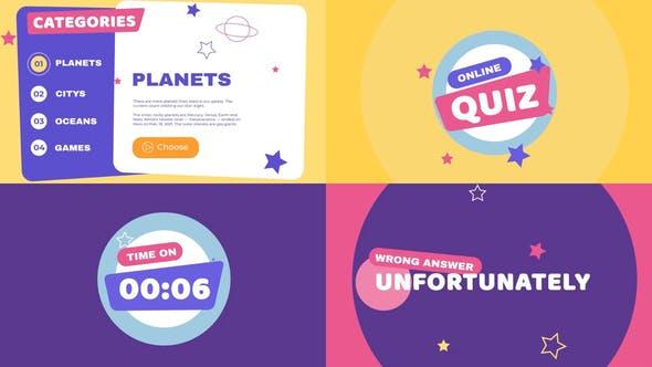 Videohive Kids Quiz Presentation 31678167