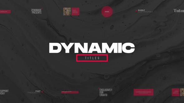 Videohive Dynamic Titles Pack 31765502