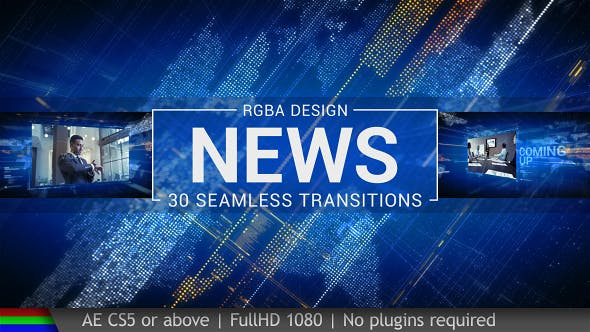 Videohive News Transitions 19466316