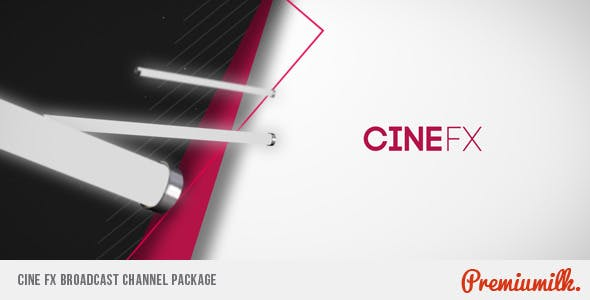 Videohive Cine FX Broadcast Channel Package 3025380