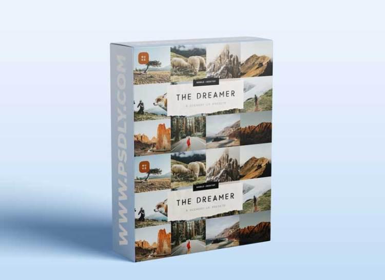CreativeMarket - The Dreamer – 8 Lightroom Presets 6049377