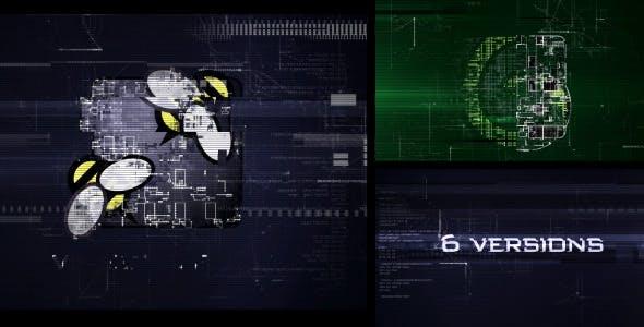 Videohive Hi-Tech Glitch 11259580