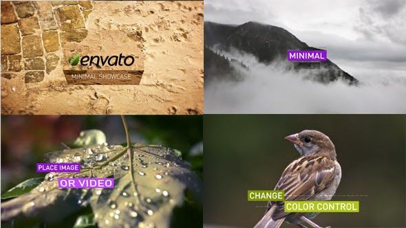 Videohive Minimal Showcase Image Video 5750751
