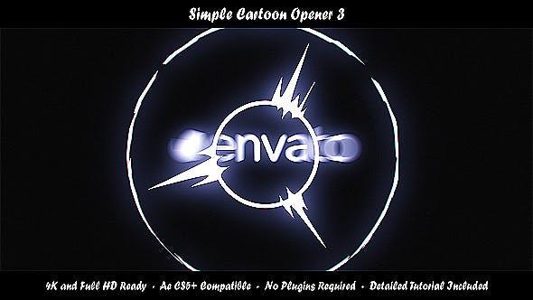 Videohive Simple Cartoon Opener 3 19905438