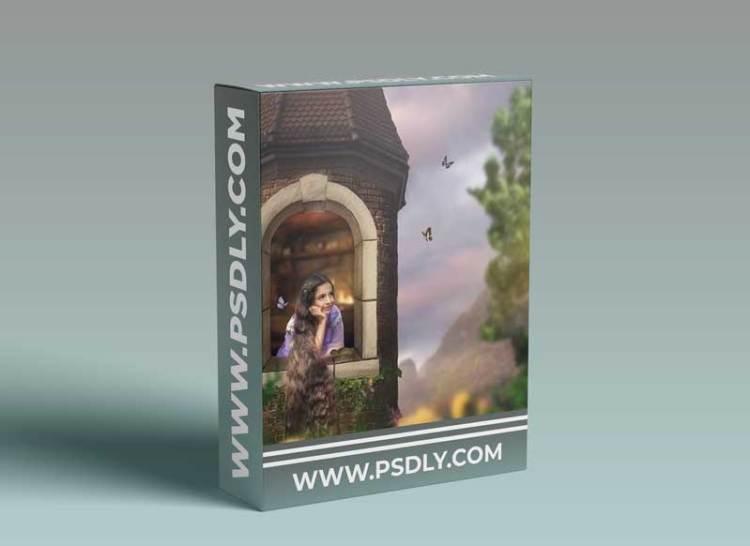 Summerana - Rapunzel Composite Editing Workshop by Lisset Perrier Artistry