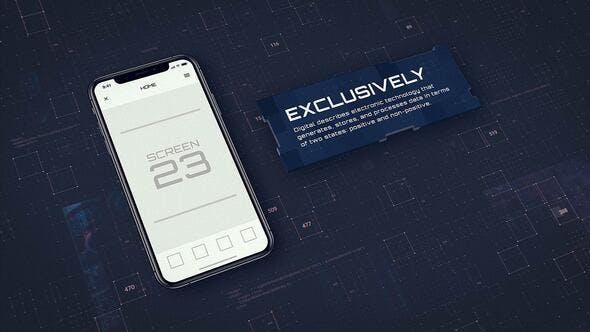 VideoHive Digital App Promo - iOS 23804969