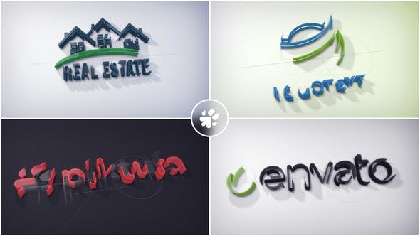 Videohive Architect Stroke Logo 21480147