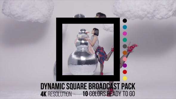 Videohive Dynamic Square Broadcast Pack 14886568